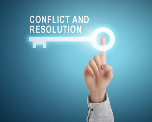 key to conflict resolution